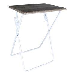 Tavolo Pieghevole Confortime Legno Metallo 48 x 38 x 66 cm