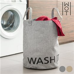 Bag for Dirty Laundry Washit Wagon Trend Grey