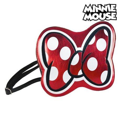 Borsa a Tracolla Minnie Mouse 72811 Rosso Metallizzato