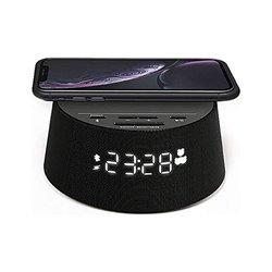 Radio Sveglia con Caricabatterie Wireless Philips TAPR702/12 FM Bluetooth Nero