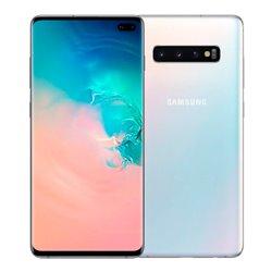 "Smartphone Samsung S10+ SM-G975 6,4"" Octa Core 8 GB RAM 128 GB Bianco"