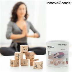 Gioco Dadi di Yoga Anandice InnovaGoods 7 Pezzi