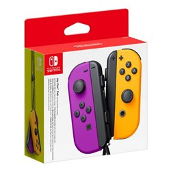 Gamepad Wireless Nintendo Joy-Con Viola Arancio