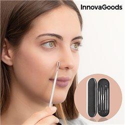 InnovaGoods Gesichtssreinigungsset gegen Mitesser (6-teilig)
