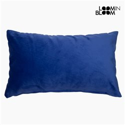 Coussin Polyester Bleu (30 x 50 x 10 cm) by Loom In Bloom