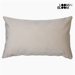 Cushion Polyester Beige (30 x 50 x 10 cm) by Loom In Bloom