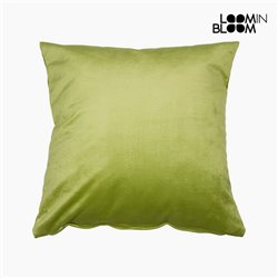Cushion Polyester Pistachio (45 x 45 x 10 cm) by Loom In Bloom