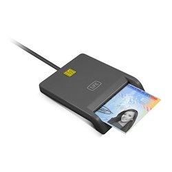 Lettore per DNI Elettronico 1LIFE 1IFECRCITIZEN USB 2.0 Nero
