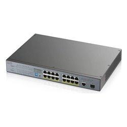 Switch ZyXEL GS1300-18HP-EU0101F 16 Gb 170W 18 Porte Grigio