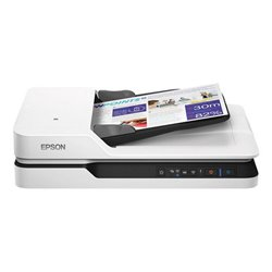 Scanner Wi-Fi Fronte Retro Epson WorkForce DS-1660W 1200 dpi LAN Bianco