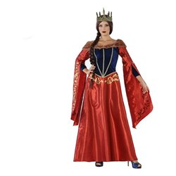 Costume per Adulti 113916 Regina medievale XL