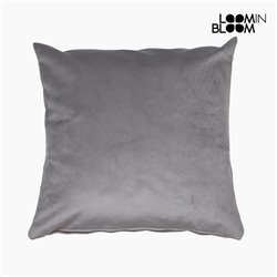 Cuscino Poliestere Grigio (45 x 45 x 10 cm) by Loom In Bloom