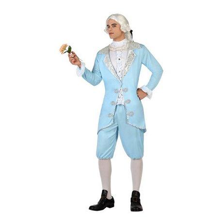 Costume per Adulti 117836 Cortigiano Blu cielo (3 Pcs) XS/S