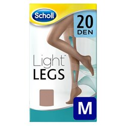 Dr Scholl 20 Den Natural Light Compression Stockings - M