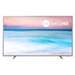 "Smart TV Philips 43PUS6554 43"" 4K Ultra HD LED WiFi Argentato"