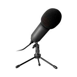 Microfono da Tavolo Newskill Kaliope LED Nero