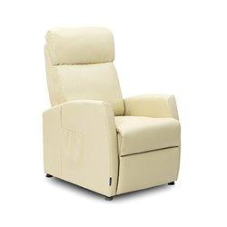 Poltrona Relax Massaggiante Compact Push Back Beige Cecotec 6181