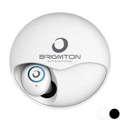 Auricolari Bluetooth con Microfono BRIGMTON BML-17 500 mAh Bianco