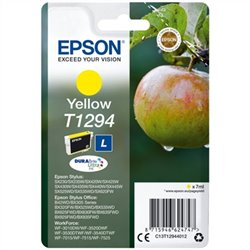 Cartuccia ad Inchiostro Originale Epson T1294 7 ml Giallo