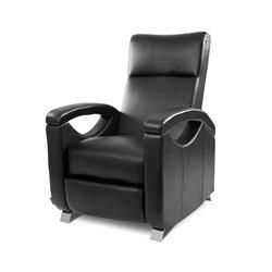 Sillón Relax Masajeador Push Back Negro Cecotec 6025