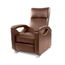Poltrona de Relaxamento e Massagem Push Back Castanha Cecotec 6027