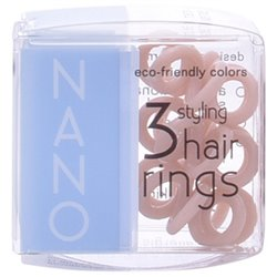 """Elastiques pour Cheveux Nano Invisibobble """"Crystal Clear Hair Rings"""""""