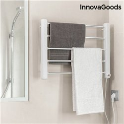InnovaGoods Electric Towel Rack to Hang on Wall 65W White Grey (5 Bars)