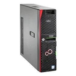 Server tower Fujitsu TX1320M4 Xeon® E-2124 16 GB RAM 2 TB Nero