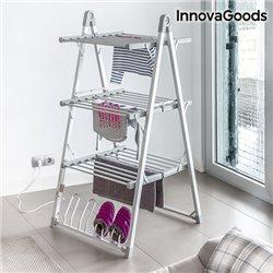 InnovaGoods Compak Zusammenklappbarer Elektrischer Wäscheständer 300W Grau (30 Stangen)