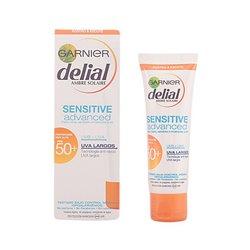 Protezione Solare Viso Sensitive Delial SPF 50+ (50 ml)