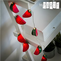 Th3 Party LED Watermelon Garland (10 LED)
