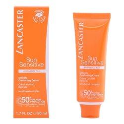 Facial Sun Cream Sun Sensitive Lancaster Spf 50 (50 ml)