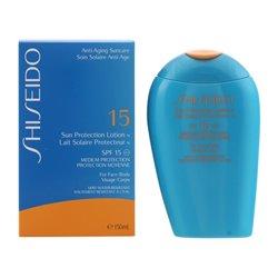 Protector Solar Facial Sun Protection Anti Aging Shiseido Spf 15 (150 ml)