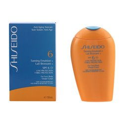 Bronceador Tanning Shiseido Spf 6 (150 ml)