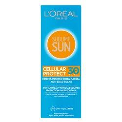 Crème solaire Sublime Sun L'Oreal Make Up Spf 30 (75 ml)