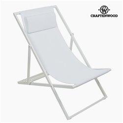 Garden chair Alumínio Textilene Branca by Craftenwood