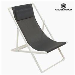 Garden chair Alumínio Textilene Cinzento by Craftenwood