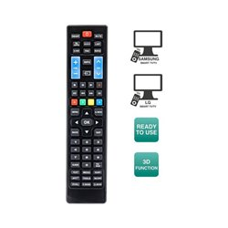 Telecomando per Smart TV Ewent EW1575 Nero