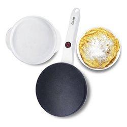 Piastra per Crepe Kiwi 600W Bianco (ø 20 cm)
