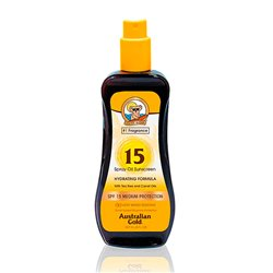 Huile Bronzante Sunscreen Hydrating Australian Gold SPF 15 (237 ml)