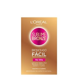 Salviettine Autoabbronzanti Sublime Bronze L'Oreal Make Up (2 uds)