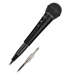 Microfono NGS SINGER METAL 3 m Nero