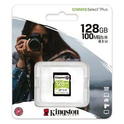 Scheda Di Memoria SD Kingston SDS2 100 MB/s exFAT 128 GB