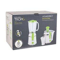 Frullatore Sbattitore 2 in 1 Kitchen Tropic MKT92230 300W Bianco Verde