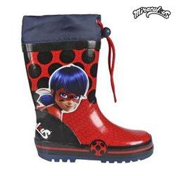 Stivali da pioggia per Bambini Lady Bug 72782 Rosso 34