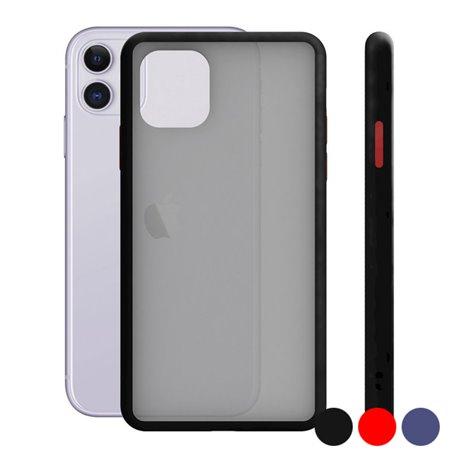 Custodia per Cellulare Iphone 11 Duo Soft Azzurro
