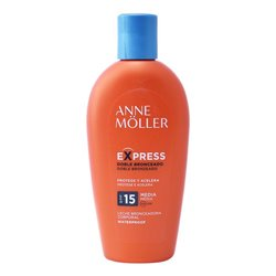Abbronzante Express Anne Möller Spf 15 (200 ml)