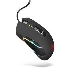 Mouse Gaming con LED Krom KOLT 4000 DPI Nero
