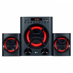 Mini impianto Stereo LG LK72B 40W Bluetooth Nero Rosso