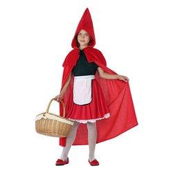Costume per Bambini 115026 Cappuccetto rosso 3-4 Anni